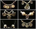 "New Vintage Silver Tone 16"" Fashion Carved Necklaces Pendants"