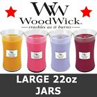 WoodWick Candles Scented Large Jar Variety NEW FRAGRANCES