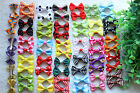 Hot Pet Hair Bows Rubber Bands /Clips Cute Bowknot Dog Hair Bows Grooming Product