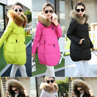 Lady Luxurious Good Winter Warm Real Fur Hood Real Duck Down Parka Coat