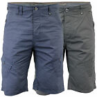 Mens Shorts Dissident Cargo Combat Knee Length Bottoms Cotton Casual Summer