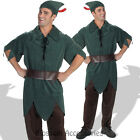 CL272 Peter Pan Disney Adult Costume Halloween Robin Hood Green Pixie Outfit