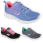 New Womans Ladies Pink Black Blue Grey Skechers SK13590 Go Walk 2 Trainers 3 - 8