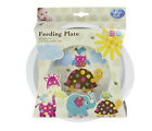 """Baby Feeding Plate """"Patchwork Friends"""" 12months+ First Steps"""