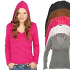 SKINNIFIT - Fineweight Hooded Top Kapuze S - XL