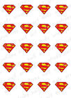 20- Nail Decals SUPERHEROS Batman, Superman, Green Lantern, Flash and Spiderman