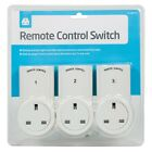 Remote Control Sockets Wireless Switch Home Mains UK Plug AC Power Outlet 3 6 9