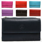 Ladies / Womens Leather Purse with Magnetic Popper Opening