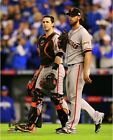 Buster Posey & Madison Bumgarner SF Giants 2014 World Series Game 7 Photo