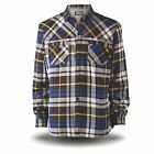 SITE ALPINE BORG FLEECE LINED HOODED FLANNEL WORK JACKET SIZE L - XL EX DISPLAY