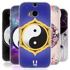 HEAD CASE YIN AND YANG COLLECTION SILICONE GEL CASE FOR HTC ONE M8