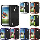 Hybrid Armor Rugged Hard Case Cover Skin For Samsung Galaxy S4 i9500 Thrifty