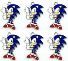 Lot Classic Sonic Hedgehog Metal Charms Pendants Jewelry Making Party Gifts R50
