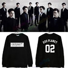 EXO'Luxion Coat Second Seoul Concert Tour Sweater Hoodie Pullover EXO Planet