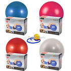 65CM EXERCISE GYM YOGA SWISS BALL FITNESS PREGNANCY BIRTHING ANTI BURST + PUMP