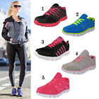 LADIES TRAINERS GIRLS WOMENS RUNNING SPORTS WALKING GYM SHOES UK 3 4 5 6 7 8
