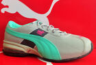 PUMA CELL TURIN PERF-Womens Running New Shoes-Limestone/Shad/Grn/Purp-185239 20