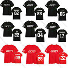 KPOP GOT7 Tshirt Bambam JB JR Mark Youngjae Jackson T-shirt Tee