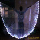 LED wings of isis belly dance club wear solid color NEW performance prop 5colors
