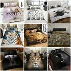 PHOTO PRINT ANIMAL DESIGN DUVET COVERS STUNNING IMAGES IN SINGLE OR DOUBLE SIZES