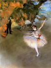 Ballerina The Star Ballet Dancer by Edgar Degas Art Print Painting Reproduction