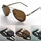 Men Driving Aviator Polarized Sunglasses Mirror Goggles eyewear glasses 209+Case