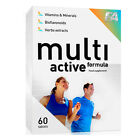 FA Nutrition MultiActive Formula 60 Tablets Vitamins  Minerals