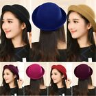 Vogue Lady Women Fashion Vintage Wool Cute Trendy Solid Bowler Derby Hat Cap #A