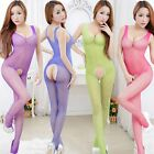 Sexy Lady Women's Crotchless Fish Net Body Stocking Bodysuit Lingerie Nightwear