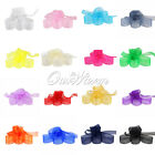 "100 YD 1"" 25mm Organza Sheer Ribbon Craft Bow Wedding Supply Decor Colors Craft"