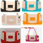 Durable Silicone Tote Handbag Chain Cell Phone Case Cover For iPhone 4 4S TBUS