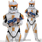 CK367 Deluxe Clone Trooper Commander Cody Star Wars  Boys Fancy Dress Up Costume