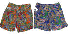 Polo Ralph Lauren Mens Orange Red Purple Paisley Swim Trunks Surf Board Shorts