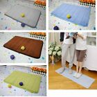 Memory Foam Bath Mat Household Carpet Absorbent Slip-resistant Pad Bathroom Bath