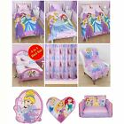 DISNEY PRINCESS SPARKLE BEDROOM RANGE – DUVET COVERS, CURTAINS, RUGS + MORE