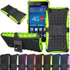 For Huawei Ascend G620S Rugged Armor Hybrid Protector Case Shockproof Hard Cover