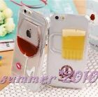 Red wine Beer Dynamic Iphone Case Wine glass Beer Mug For iphone6 4s 5 5s 6 plus