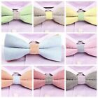 Classic Men's Women's Unisex Tuxedo Bow Tie Adjustable Wedding Party Bowtie HBBW