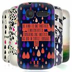 HEAD CASE DROPLETS OF LIFE SILICONE GEL CASE FOR ALCATEL POP C1