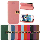 Magnetic Leather Credit Card Stand Case Cover чехол For iPhone 5 5G 5S Trendy
