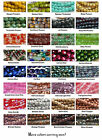 4mm Fire Polished Czech Faceted Glass Beads 50 Choose Color