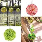 "New 6"" Artificial Silk Flower Rose Balls Wedding Centerpiece Bouquet Party Decor"