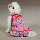 TeaCup - East Side Collection - Butterfly Garden - Dog Puppy Dress - Pink