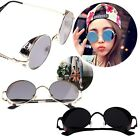 Unisex Women Fashion Vintage Style Sunglasses Goggles Glasses Round Metal Frame