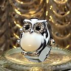 New Hot Creative Fashion Retro Owl Finger Watch Clamshell Ring Watch Perfect