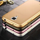 Luxury Ultra-thin Aluminum Metal Bumper PC Back Case Cover For Samsung Galaxy TH