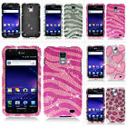 For AT&T Samsung Galaxy S 2 II Skyrocket i727 Colorful Bling Hard Case Cover