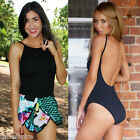NEW Strap Women's Bodysuit Backless Jumpsuit Rompers Playsuit Ladies Sleeveless