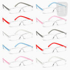 10 PAIRS - NEW RIMLESS READERS READING GLASSES - STRENGTH +3.50/+3.5