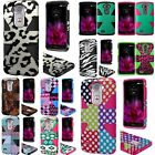 For LG G Flex 2 Pattern Design Dynamic Slim Rugged Hybrid Dual Layer Cover Case